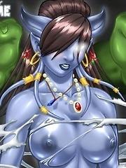 Nude World of Warcraft^World Of Warcraft Cartoon porn sex xxx cartoons toon toons drawn drawings free